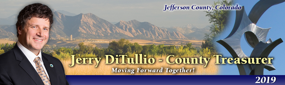 Couny Treasurer Jerry DiTullio